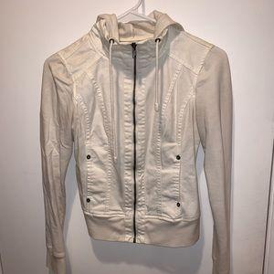White Guess jacket xs